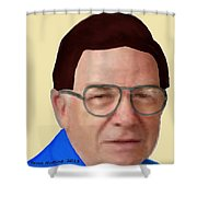 Alan Bachman Shower Curtain