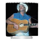 Alan Jackson Shower Curtain