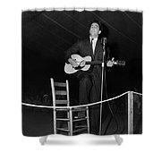 Alan Lomax (1915-2002) Shower Curtain