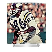 Alan Page Shower Curtain