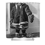 Alaska Eskimo Girl Shower Curtain