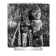Alaska: Eskimo Grave Shower Curtain