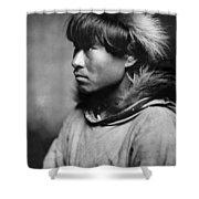 Alaska Eskimo Man, C1906 Shower Curtain