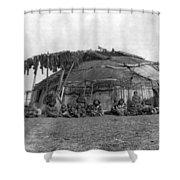 Alaska Eskimos, C1897 Shower Curtain