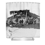 Alaska Eskimos, C1898 Shower Curtain