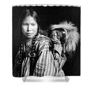 Alaska Eskimos, C1912 Shower Curtain