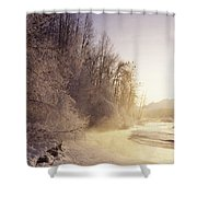 Alaska, Haines Bald Eagle Preserve Shower Curtain