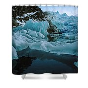 Alaska Iceberg Shower Curtain