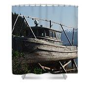Alaska Ketchikan Dry Dock Shower Curtain