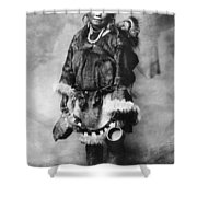 Alaska Mother And Child Shower Curtain