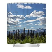 Alaska Range IIi Shower Curtain