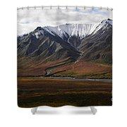Alaska Range Shower Curtain