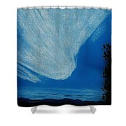 Alaska Sky Shower Curtain