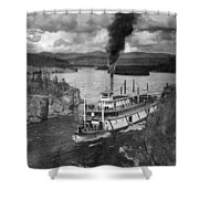 Alaska Steamboat, 1920 Shower Curtain