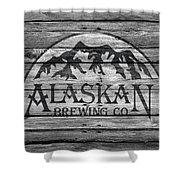 Alaskan Brewing Shower Curtain
