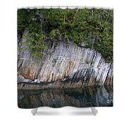 Alaskan Cliff Shower Curtain