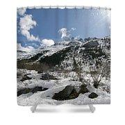 Alaskan Mountain Shower Curtain