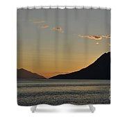 Alaskan Sunset Shower Curtain