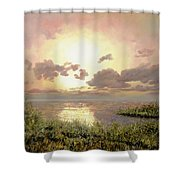 Alba Nella Palude Shower Curtain