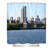 Albany Skyline Shower Curtain