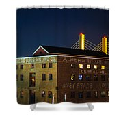 Albers Bros. Cereal Millers Shower Curtain