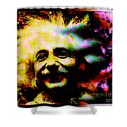 Albert Einstein - Why Is It That Nobody Understands Me - Yet Everybody Likes Me Shower Curtain