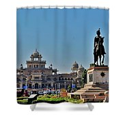 Albert Hall - Jaipur India Shower Curtain
