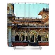 Albert Hall 2 - Jaipur India Shower Curtain