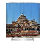 Albert Hall 3 - Jaipur India Shower Curtain