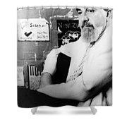 Albert Hirschfeld (1903-2003) Shower Curtain