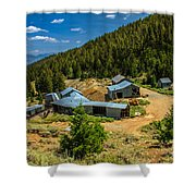 Alberta Level On Mackay Mine Tour Shower Curtain
