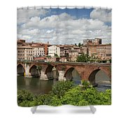 Albi France Pont Vieux Shower Curtain