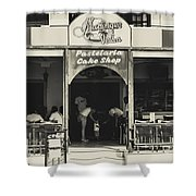 Albufeira Street Series - Martinique Velha Shower Curtain