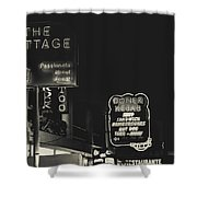 Albufeira Street Series - The Cottage II Shower Curtain