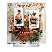 Album Of Worlds Champions Shower Curtain