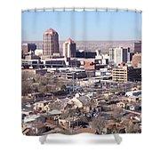 Albuquerque Skyline Shower Curtain