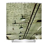 Alcatraz 6 Shower Curtain