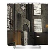 Alcatraz Doorway To Freedom Shower Curtain by Daniel Hagerman