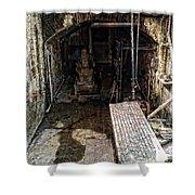 Alcatraz Island Morgue Shower Curtain