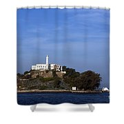 Alcatraz Island San Francisco Shower Curtain