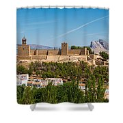 Alcazaba Shower Curtain