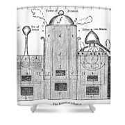 Alchemy: Tower Of Athanor Shower Curtain