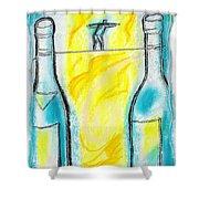 Alcoholism Shower Curtain