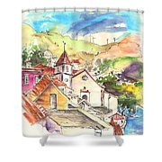 Alcoutim In Portugal 07 Shower Curtain