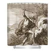 Alcyone And Ceux Transformed Shower Curtain