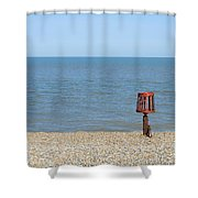 Aldeburgh Beach Shower Curtain