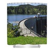Alder Dam 2 Shower Curtain