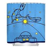 Alder Planetarium Shower Curtain by Jennifer Rondinelli Reilly - Fine Art Photography