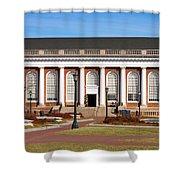 Alderman Library At Uva Shower Curtain