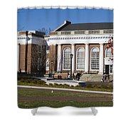 Alderman Library University Of Virginia Shower Curtain